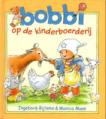 Bobbi op de kinderboerderi